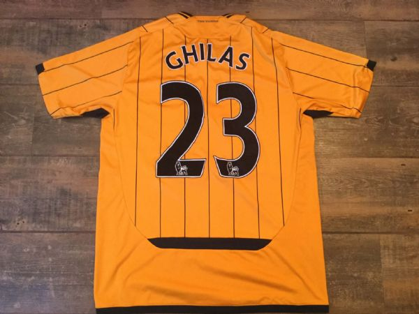 2009 2010 Hull City Ghilas Home Football Shirt Adults Large